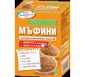 Здравословни мъфини суха смес + форми за печене