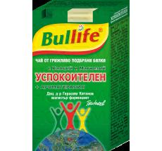 Bullife Успокоителен чай с Калций и Магнезий + Ароматерапия