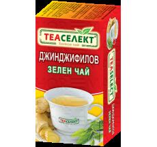 TEASELECT Джинджифилов зелен чай